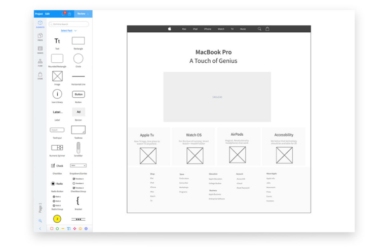 evolus pencil templates - 5 free ux design tools in 2018 that are actually free